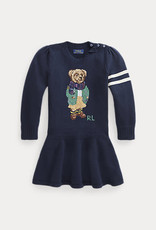 RALPH LAUREN Bear Dress-Dresses-Sweater Rl Navy