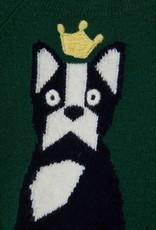 IL GUFO Sweater Billiard Green/Navy Blue