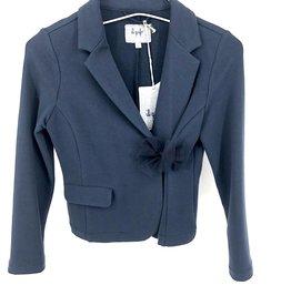 IL GUFO Cotton Blazer Navy Blue/Navy Blue