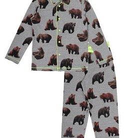 CLAESEN'S Boys pyjama brown bear