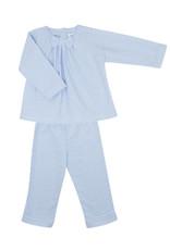 COTOLINI Pyjama Giulietta rayure ciel