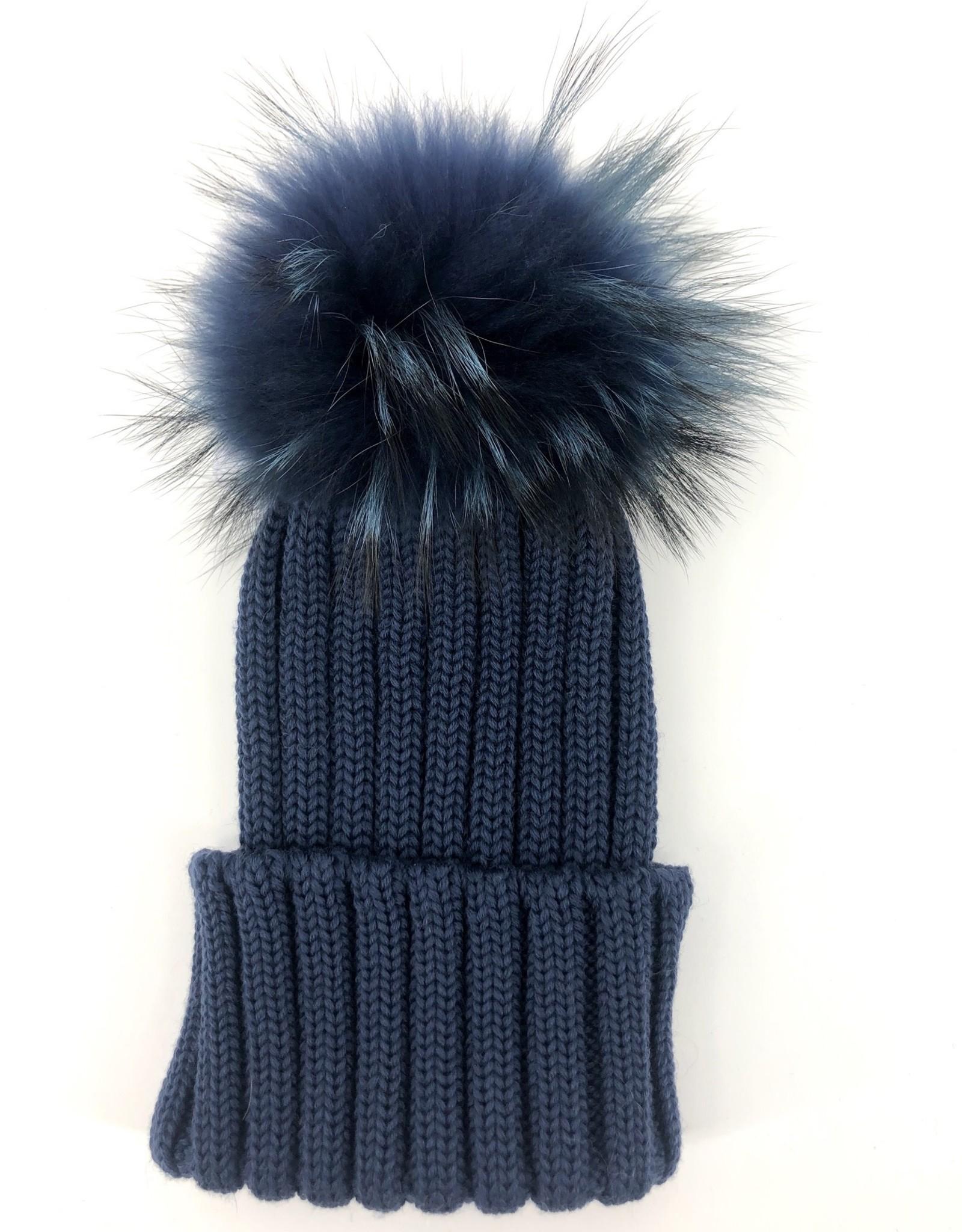 CATYA CATYA Muts jeansblauw speciale pels