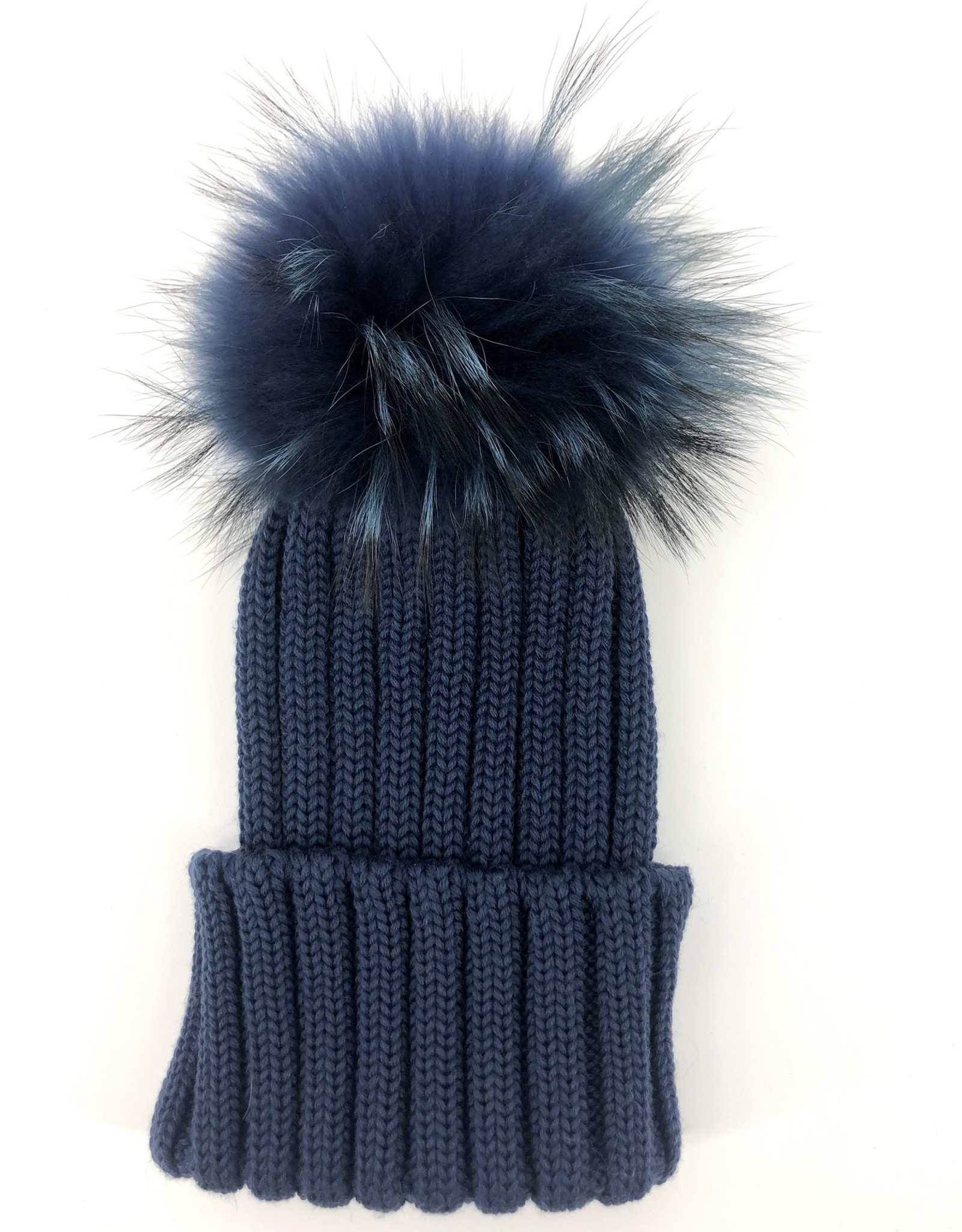 CATYA Muts jeansblauw speciale pels