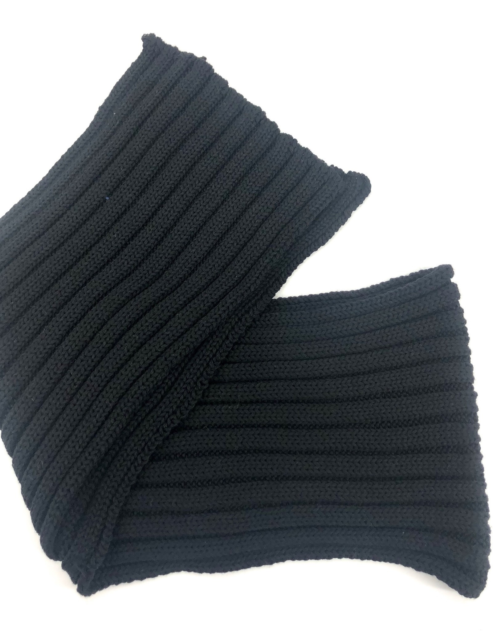 CATYA CATYA Sjaal zwart dikke brei