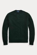 RALPH LAUREN Ls Cable Cn-Tops-Sweater Forest Green