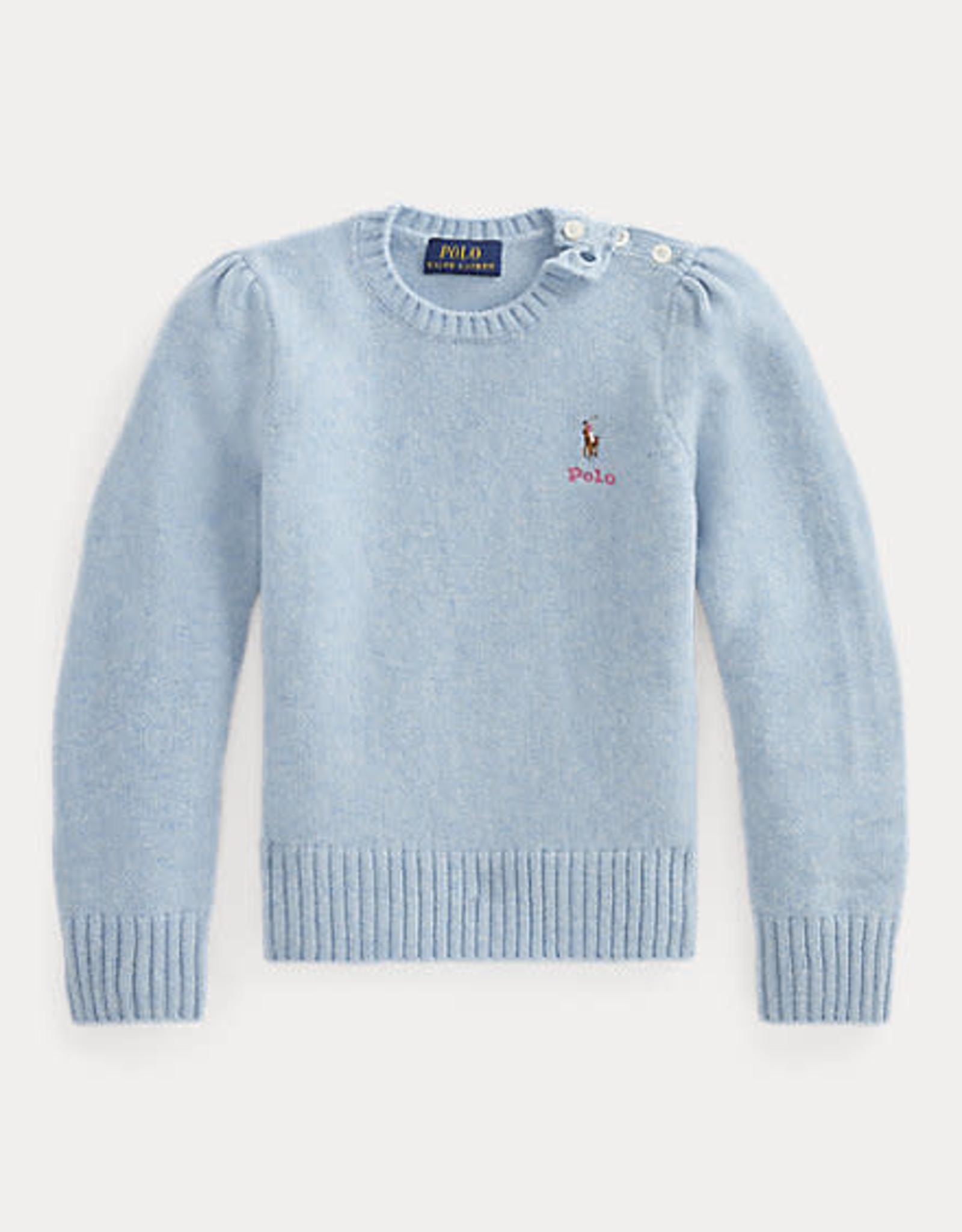 RALPH LAUREN Wool Sweater Sky