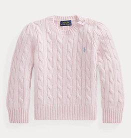 RALPH LAUREN Solid Sweater Powder Pink
