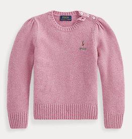 RALPH LAUREN Wool sweater pink