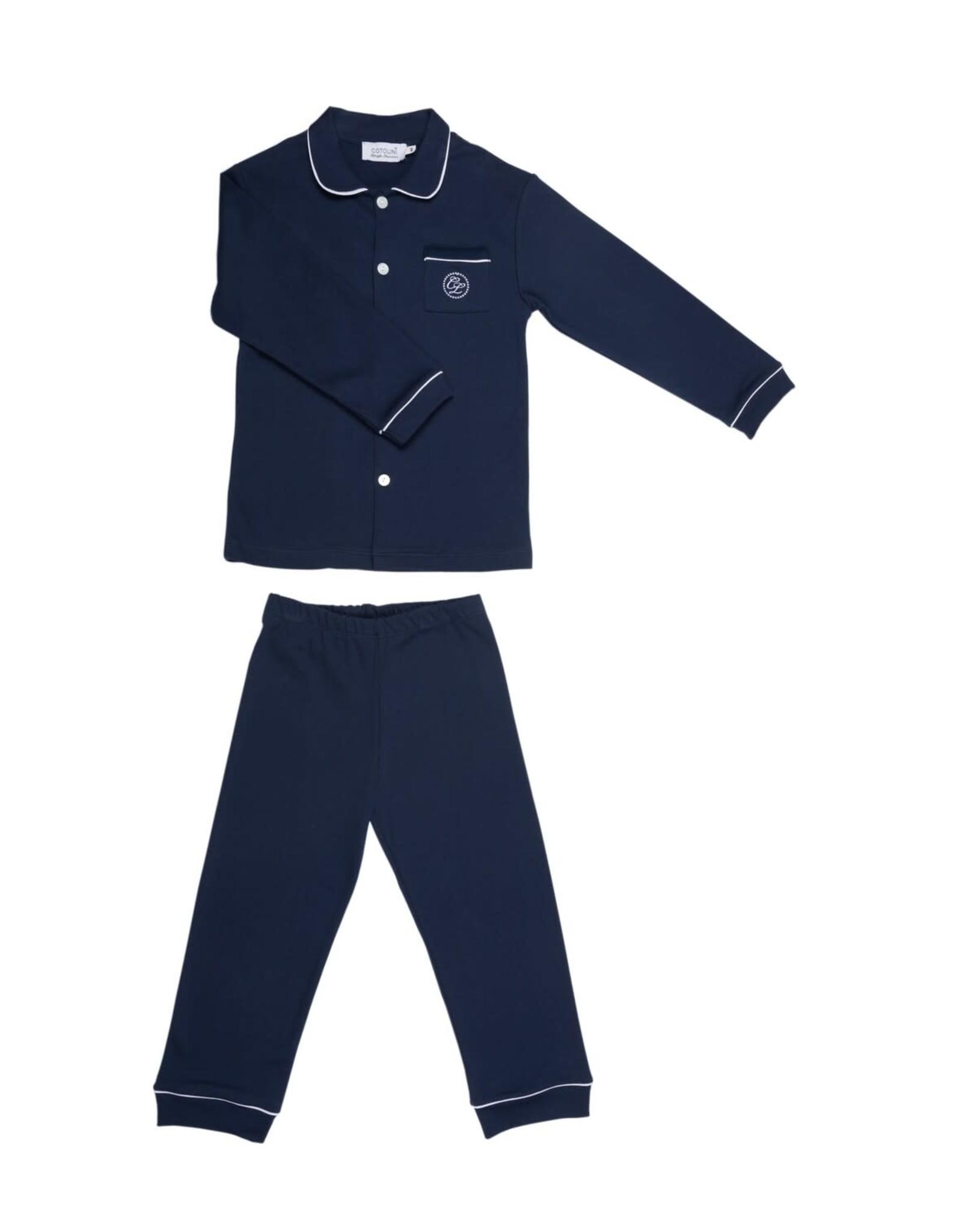 COTOLINI Pyjama Charlie marine