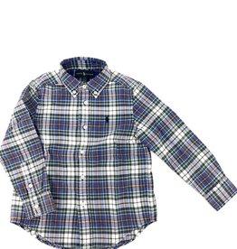 RALPH LAUREN Ls Bd-Tops-Shirt Navy Multi