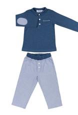 COTOLINI COTOLINI Marcel rayure marine+jeans
