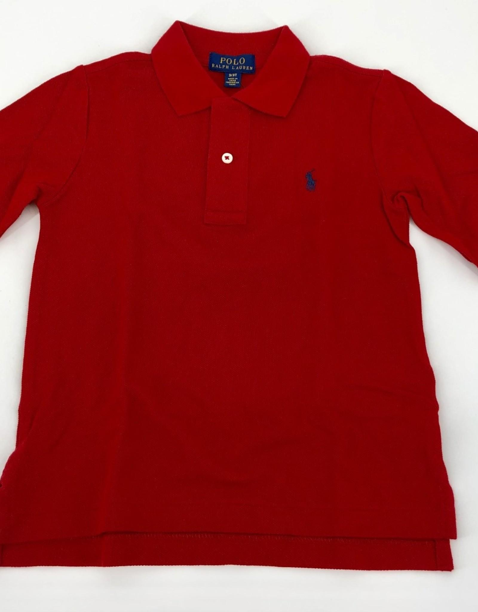 RALPH LAUREN RALPH LAUREN Polo rood