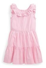 RALPH LAUREN RALPH LAUREN Kleed streepjes roze/wit