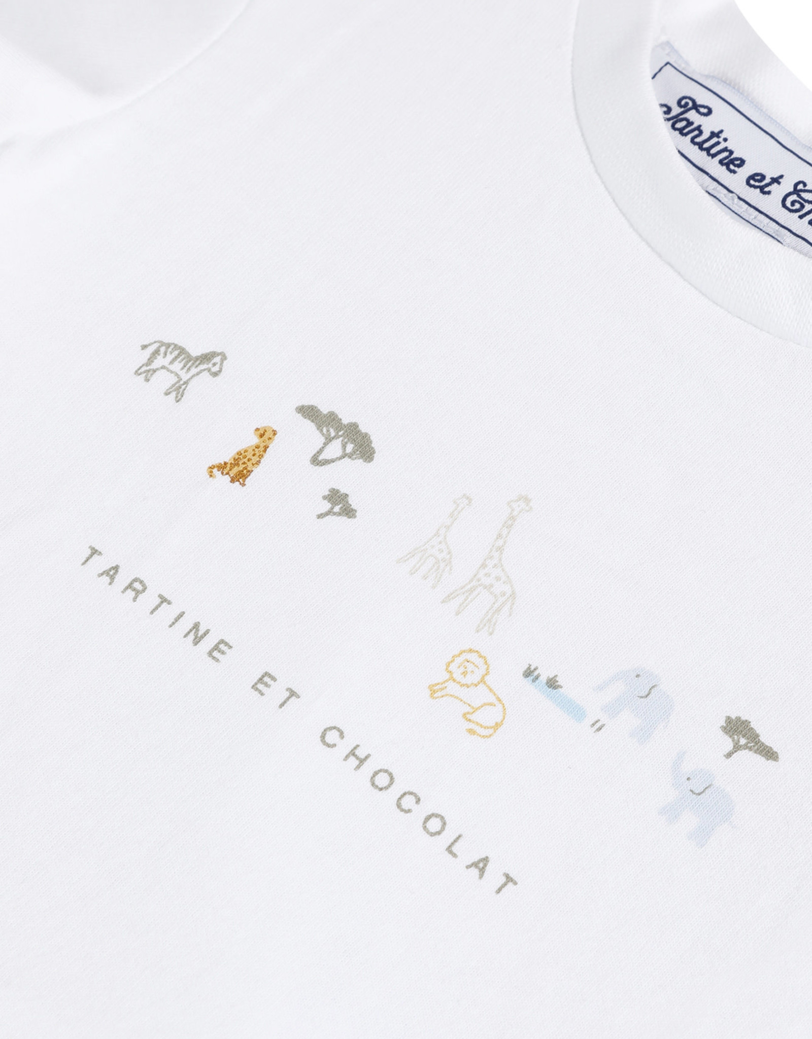 TARTINE ET CHOCOLAT TARTINE ET CHOCOLAT T-shirt TS10061