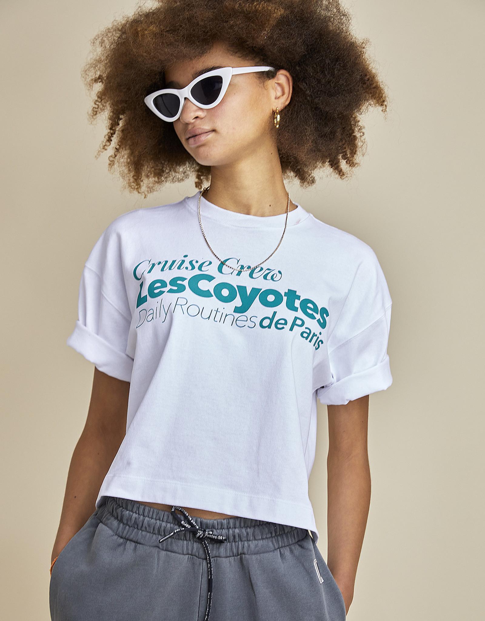LES COYOTES DE PARIS LES COYOTES DE PARIS T-shirt Evelyn white