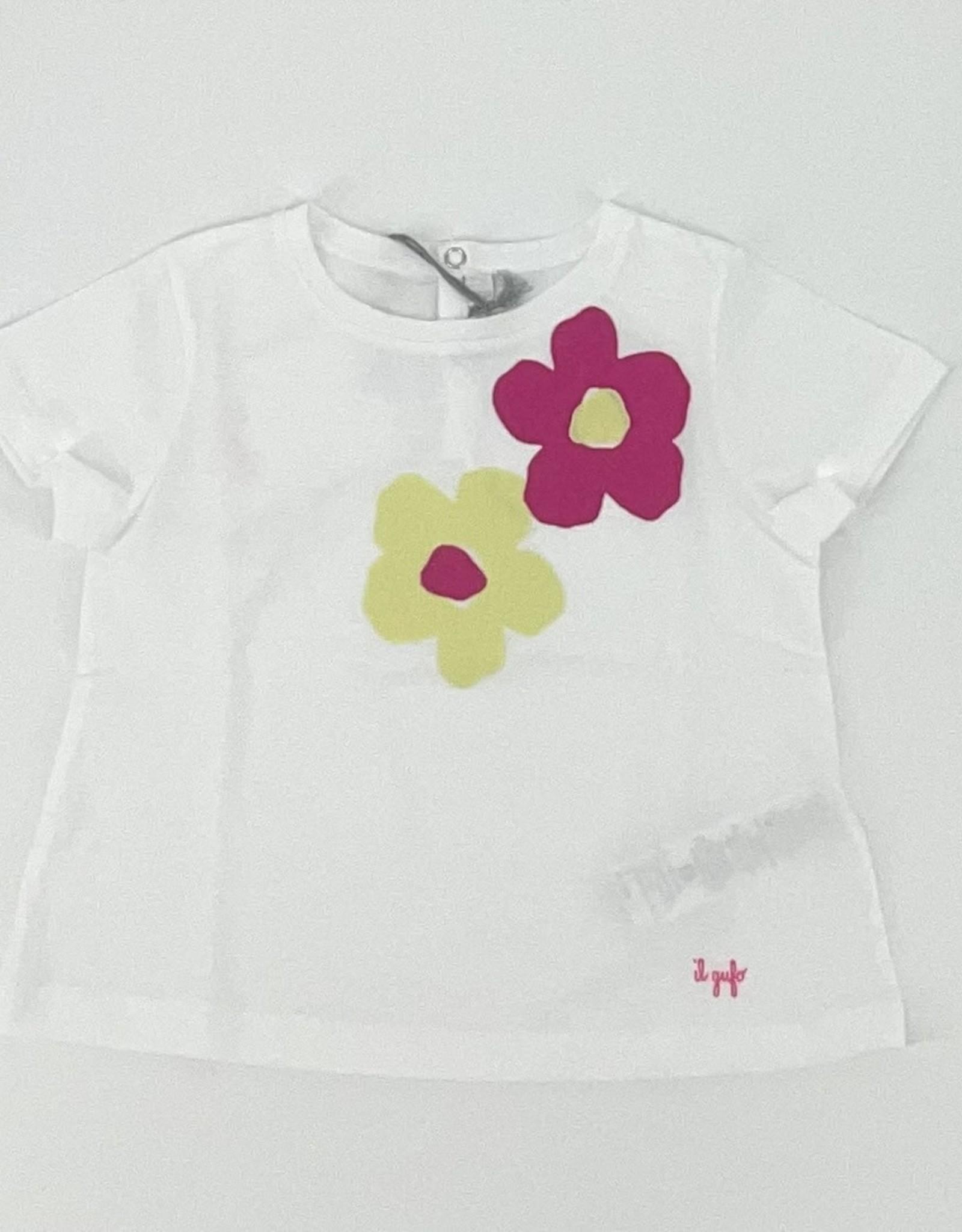 IL GUFO IL GUFO T-shirt bloemen