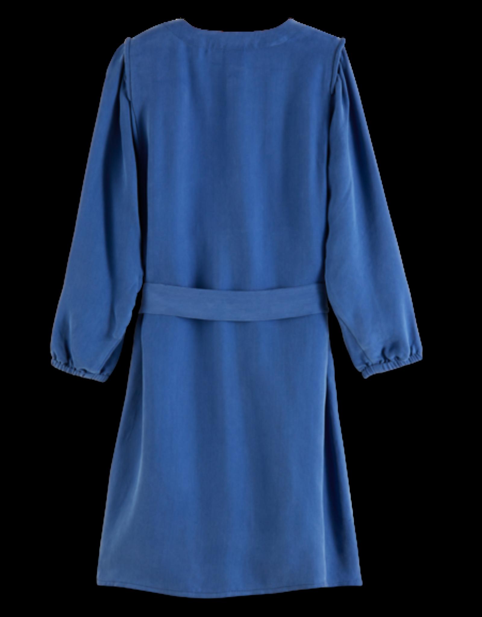 SCOTCH REBELLE Drapey shirt dress