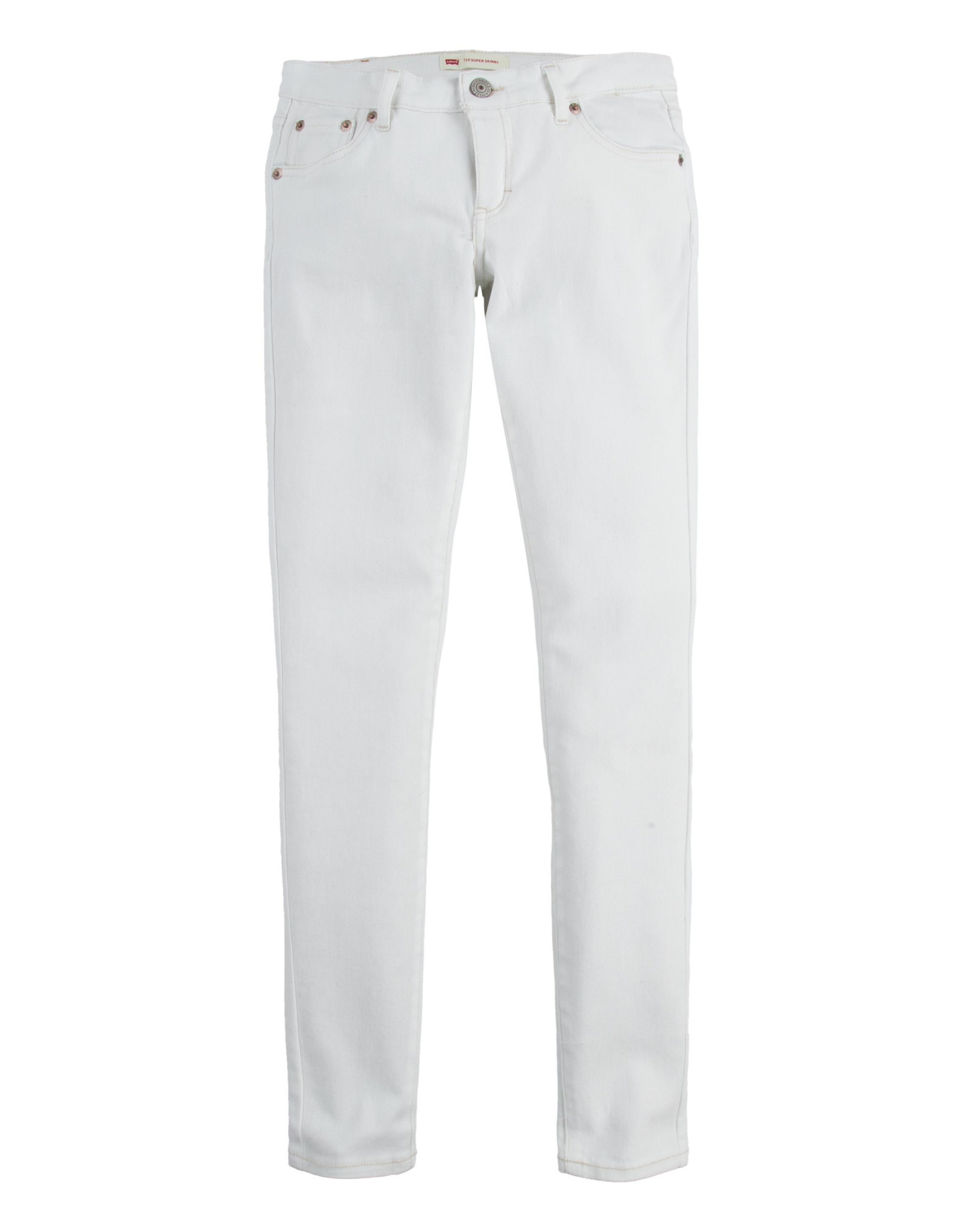 LEVI'S LEVI'S lvg 710 super skinny jean white