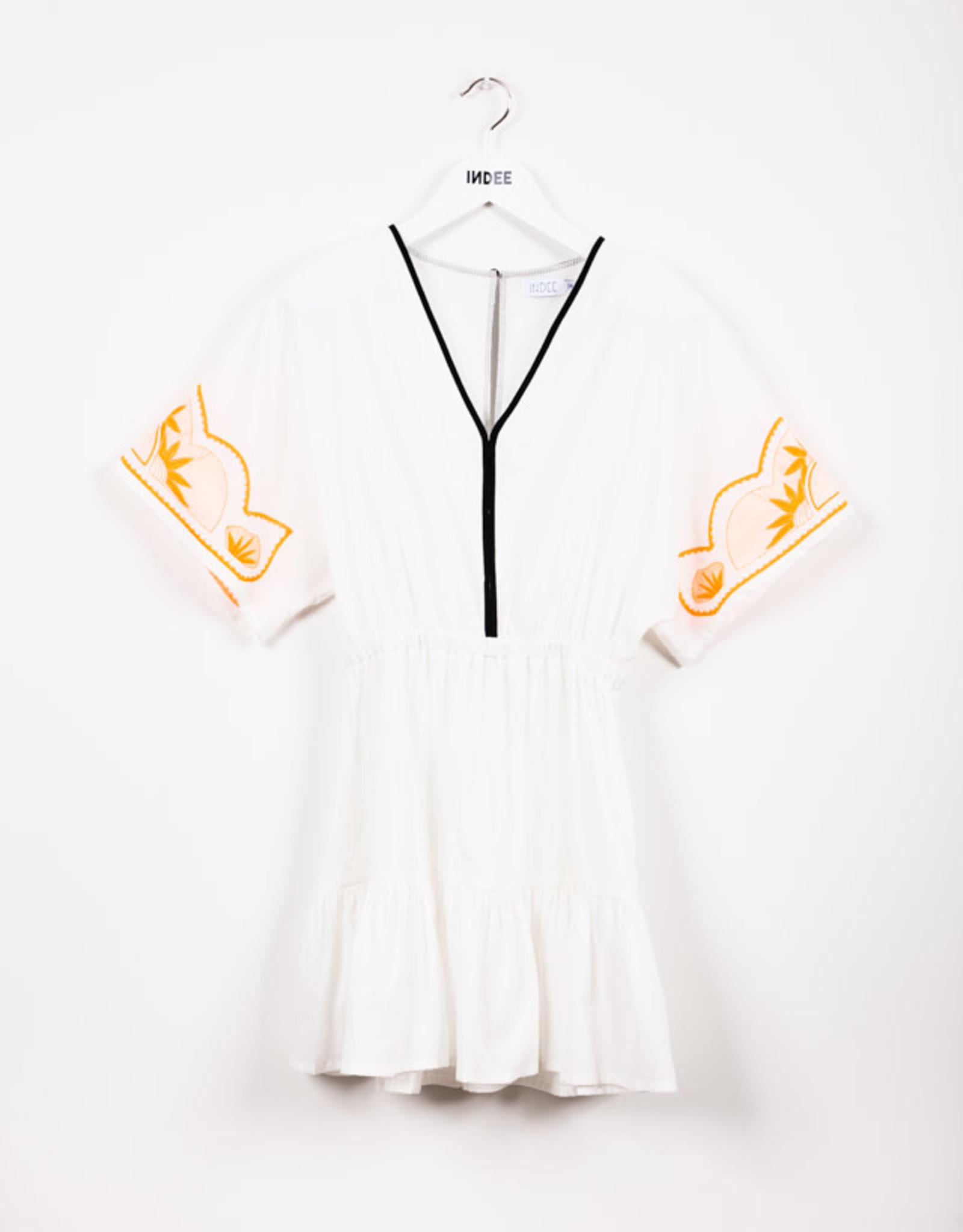 INDEE INDEE Dress Jacaranda Off White