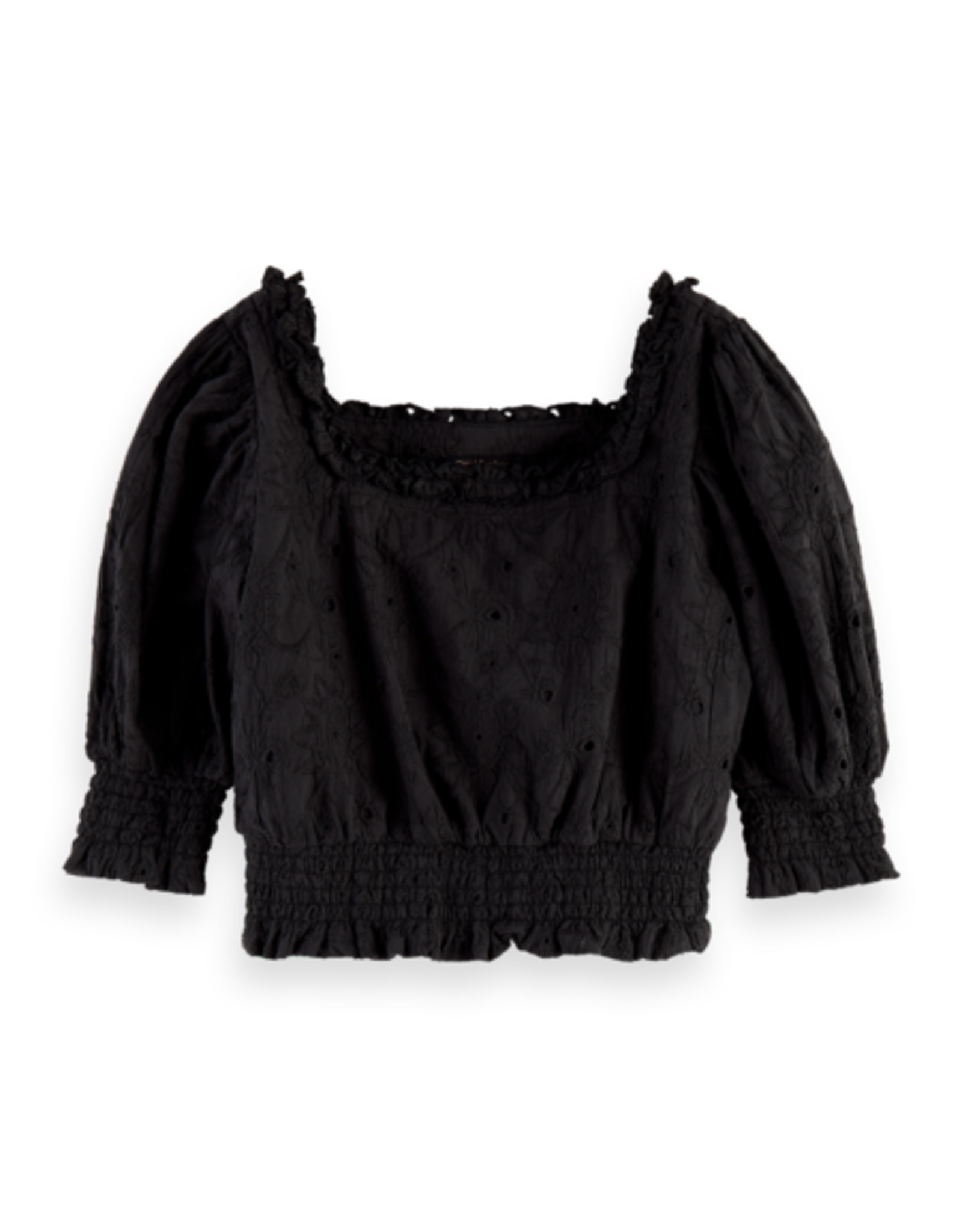 SCOTCH REBELLE Cropped top