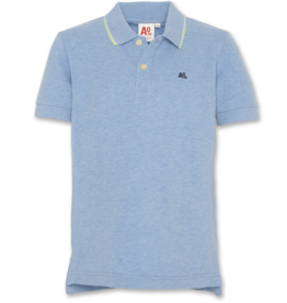 AMERICAN OUTFITTERS Ao76 T-shirt Polo Logo Blauw