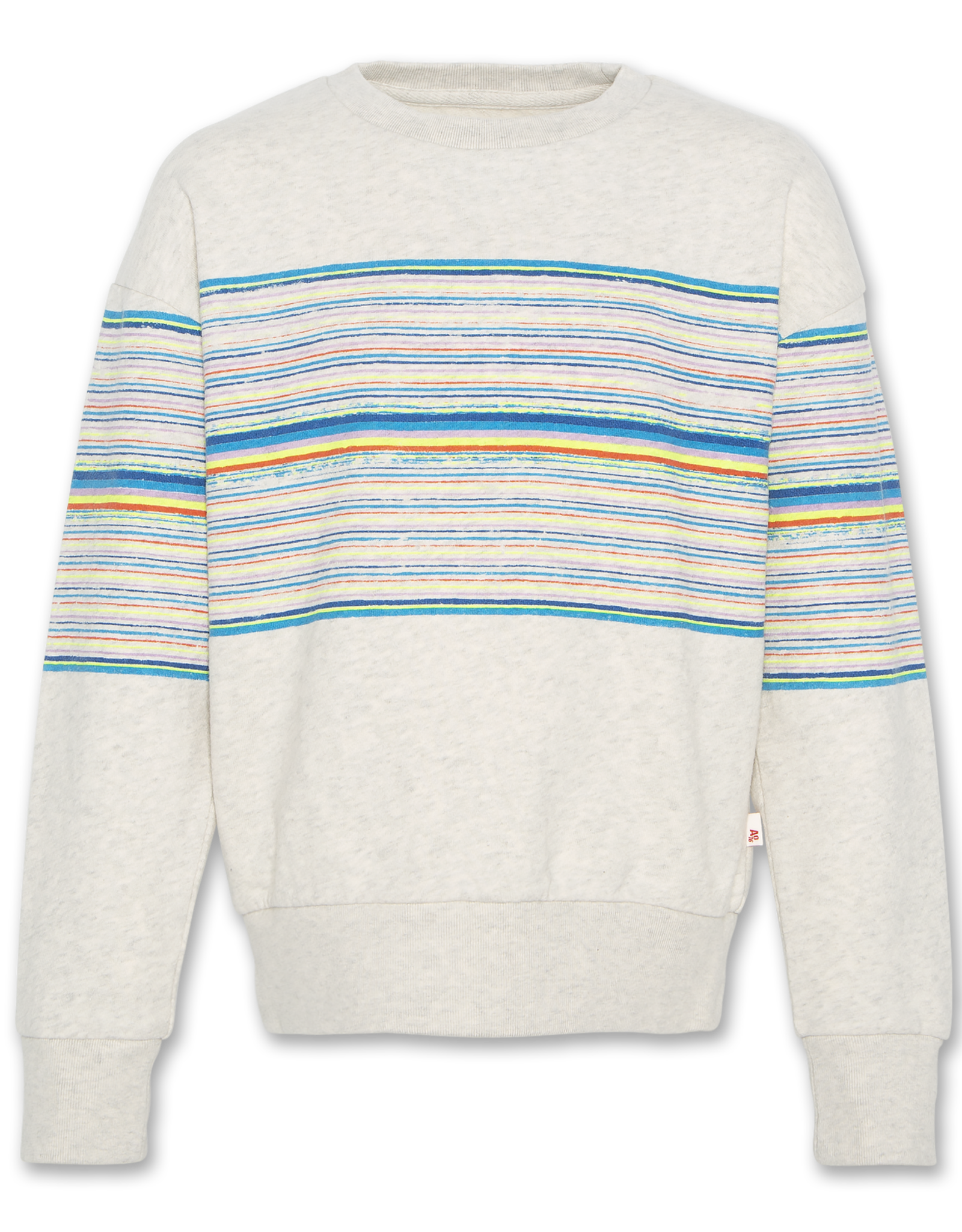AMERICAN OUTFITTERS Ao76 C-neck Oversized Stripes