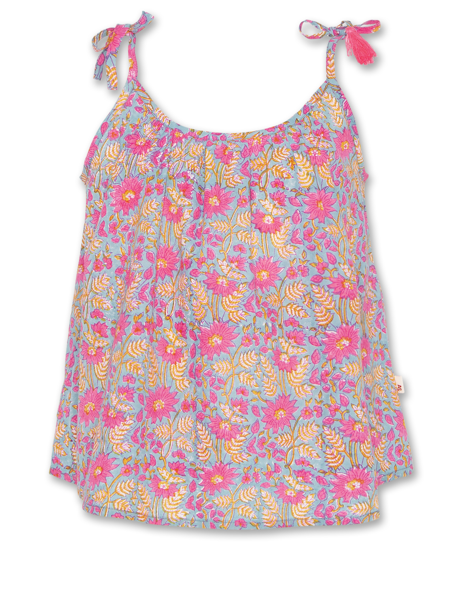 AMERICAN OUTFITTERS Ao76 Jacki Flower Top