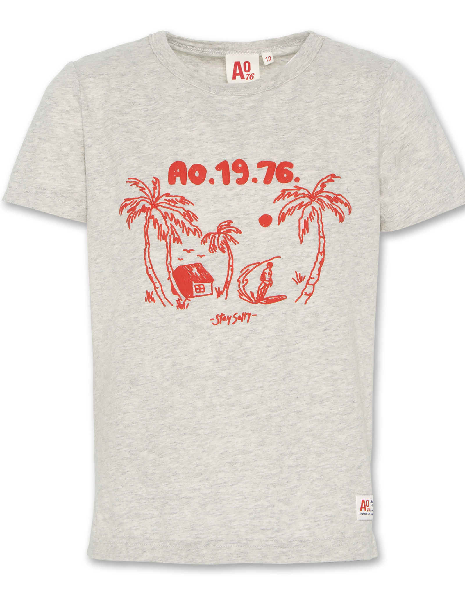 AMERICAN OUTFITTERS Ao76 T-shirt C-neck Palms