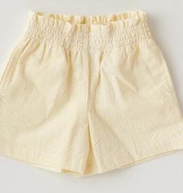 MALVI & CO MALVI & CO shortje geel met wit streepje