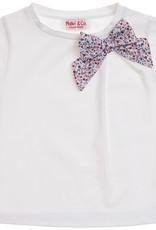 MALVI & CO MALVI & CO T-shirt met bloemenstrik
