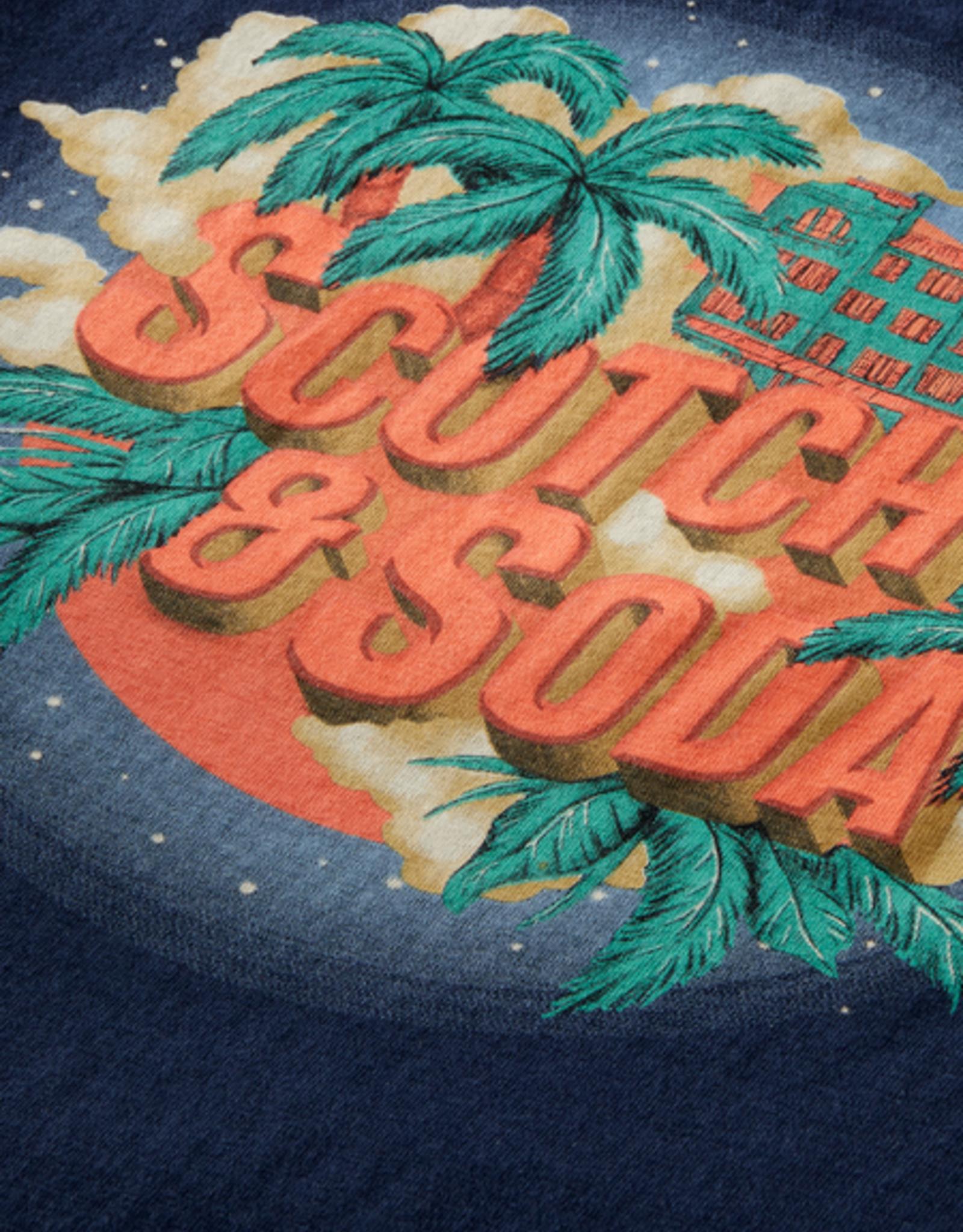 SCOTCH & SODA SCOTCH & SODA Tee col 0002