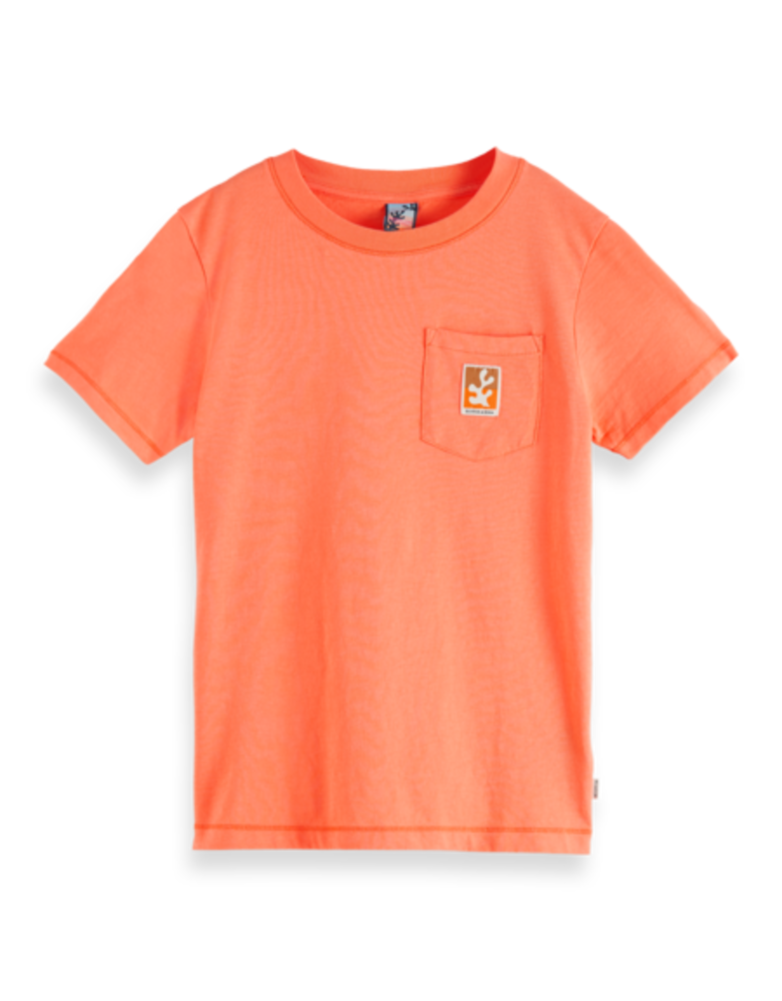 SCOTCH & SODA SCOTCH & SODA Tee col 0856
