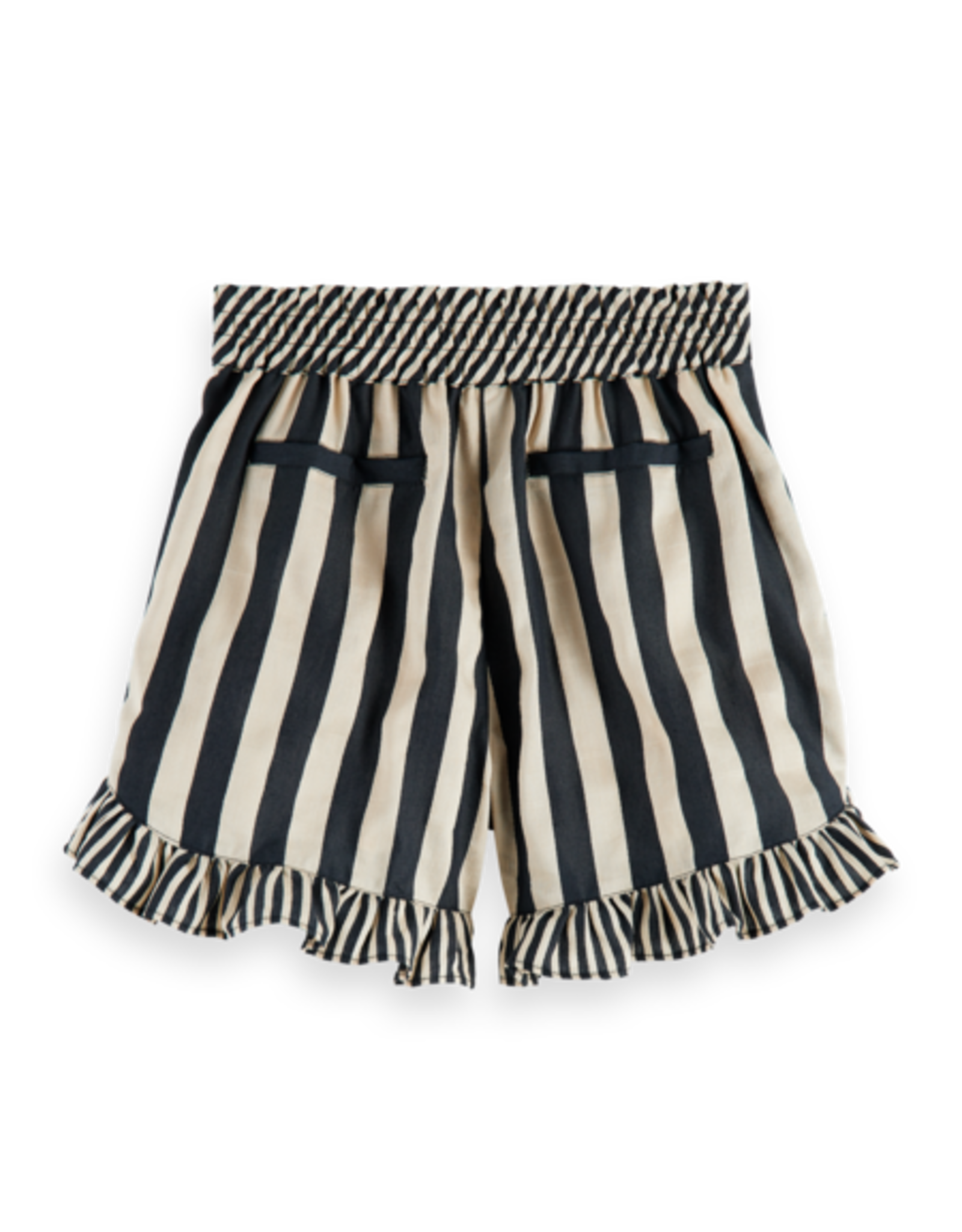 SCOTCH REBELLE Linen stripe short