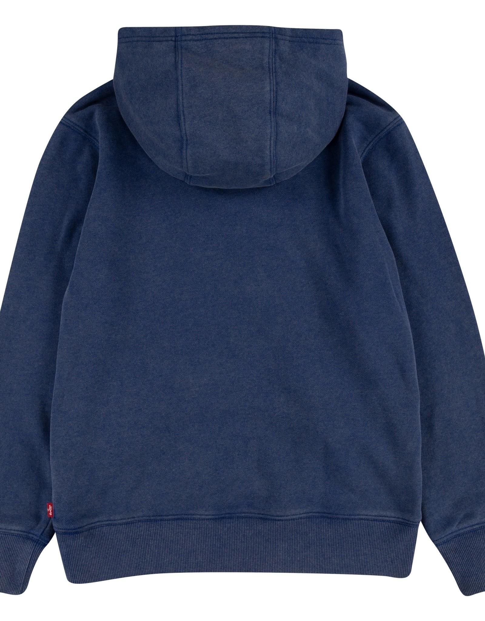 LEVI'S LEVI'S lvb washed logo po hoodie estate blue
