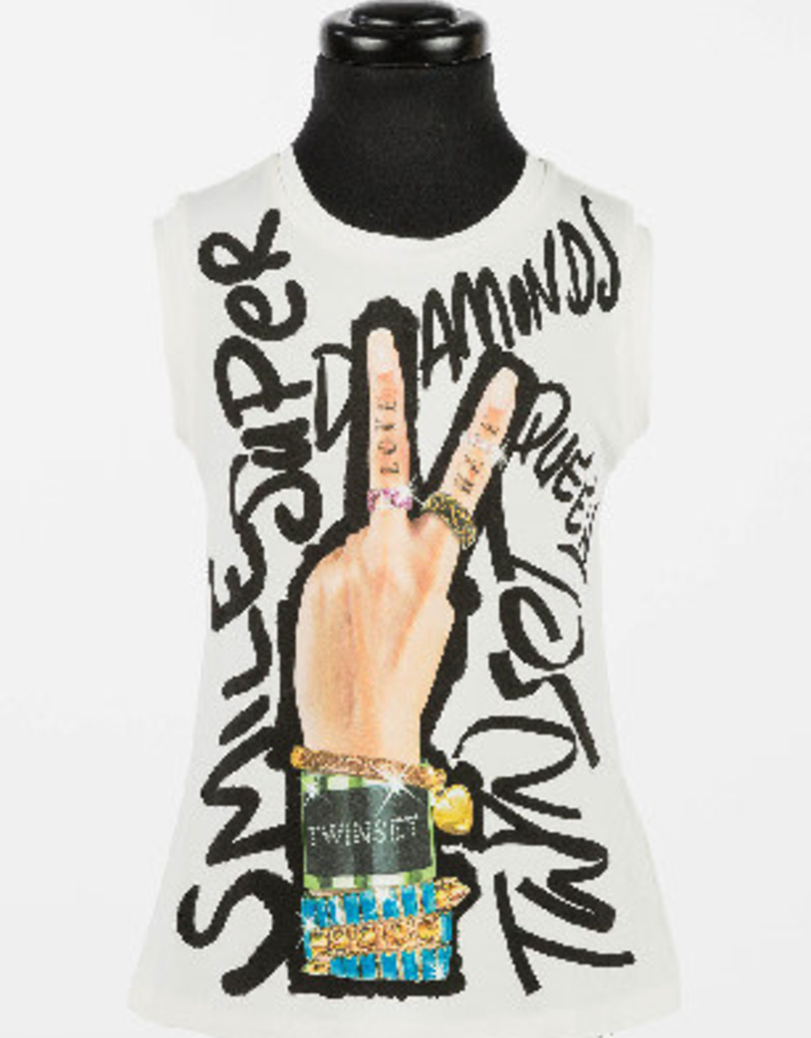 TWIN SET TWIN SET T-shirt Peace