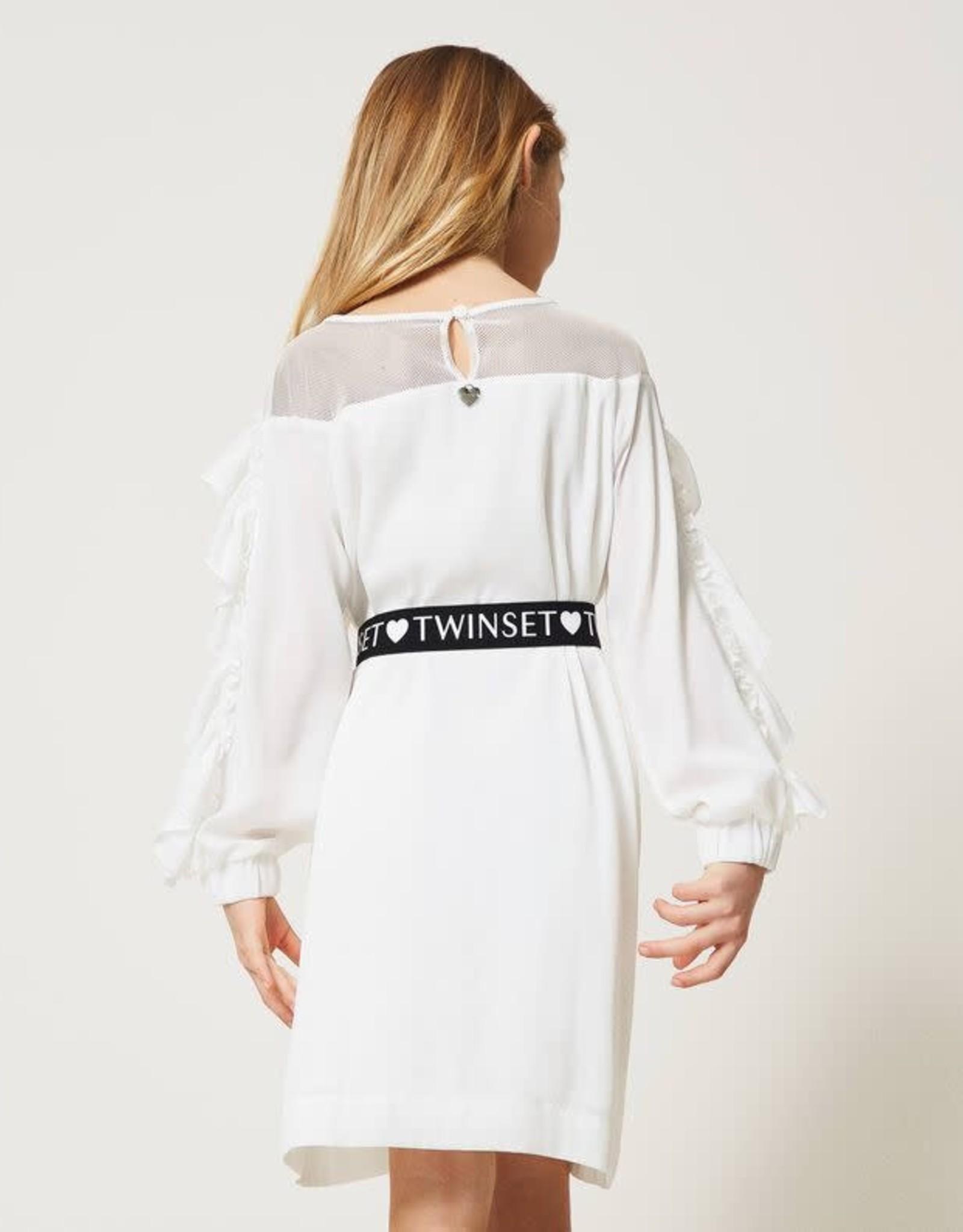 TWIN SET TWIN SET Kleed wit