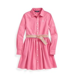 RALPH LAUREN RALPH LAUREN Roze kleedje