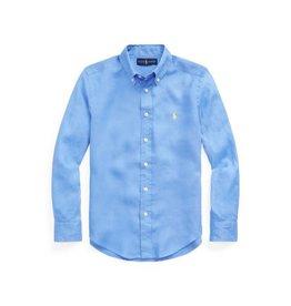RALPH LAUREN RALPH LAUREN Linnen hemd blauw