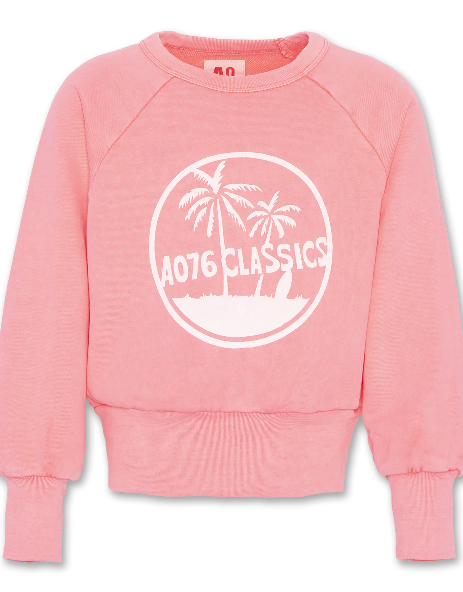 AMERICAN OUTFITTERS Ao76 C-neck Sweater Fluo pink Girls