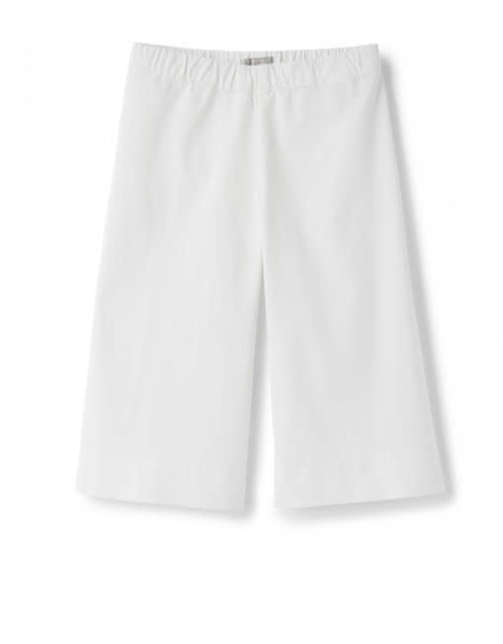 IL GUFO IL GUFO Witte culotte broek