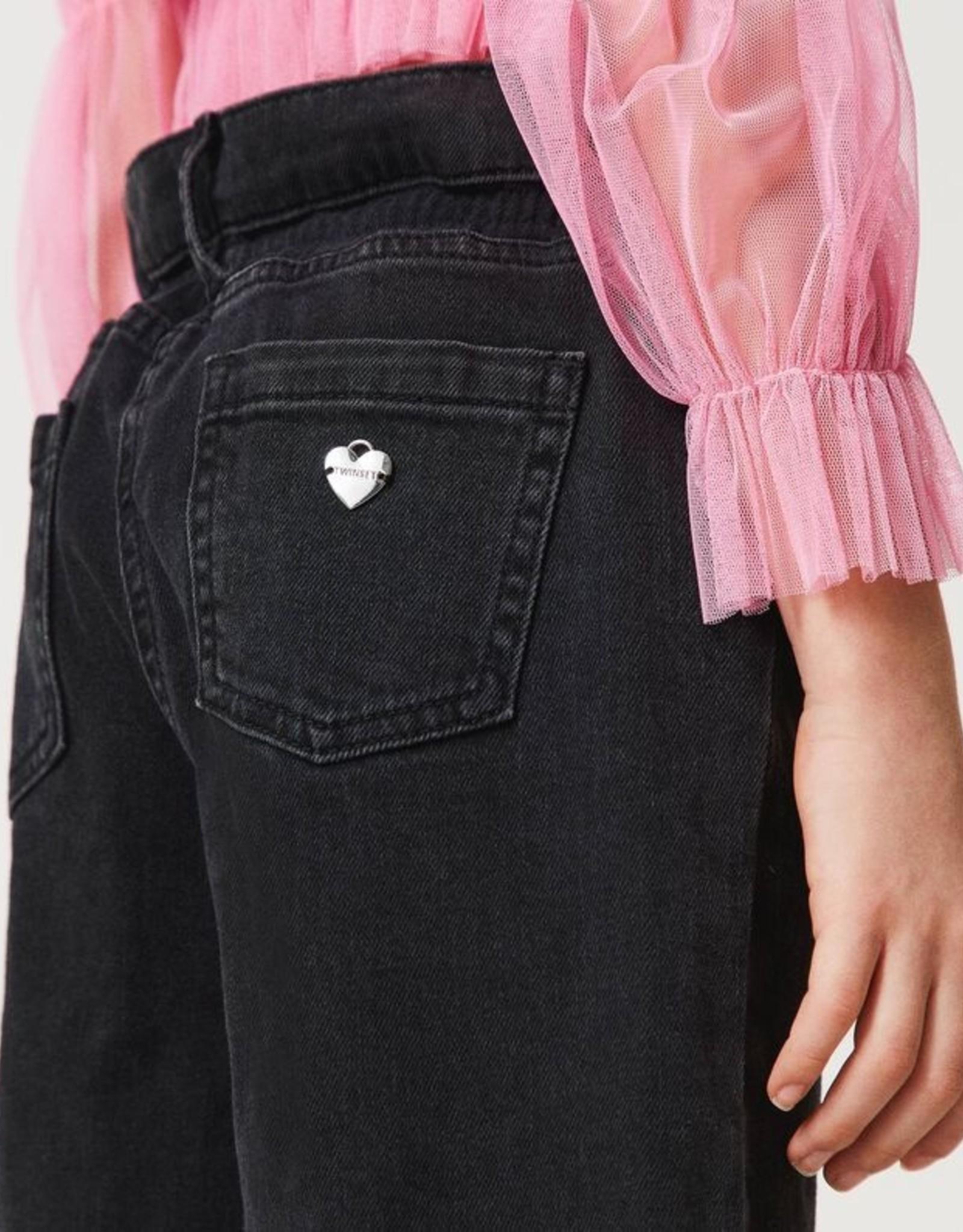 TWIN SET TWIN SET Jeans zwart