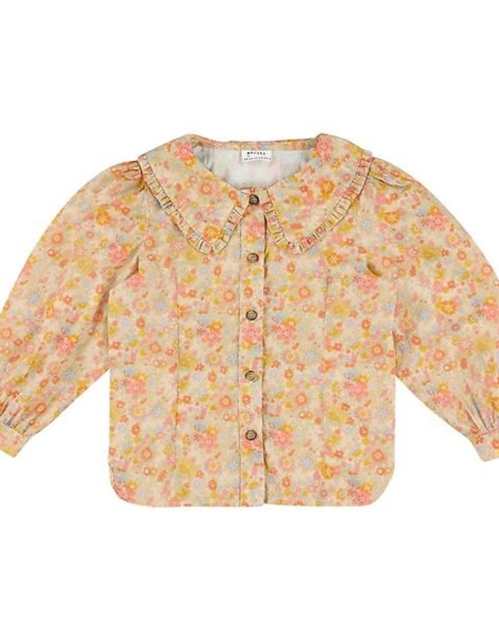 MORLEY MORLEY Narcis liberty rose shirt
