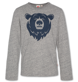 AMERICAN OUTFITTERS AO76 t-shirt c-neck ls bear oxford