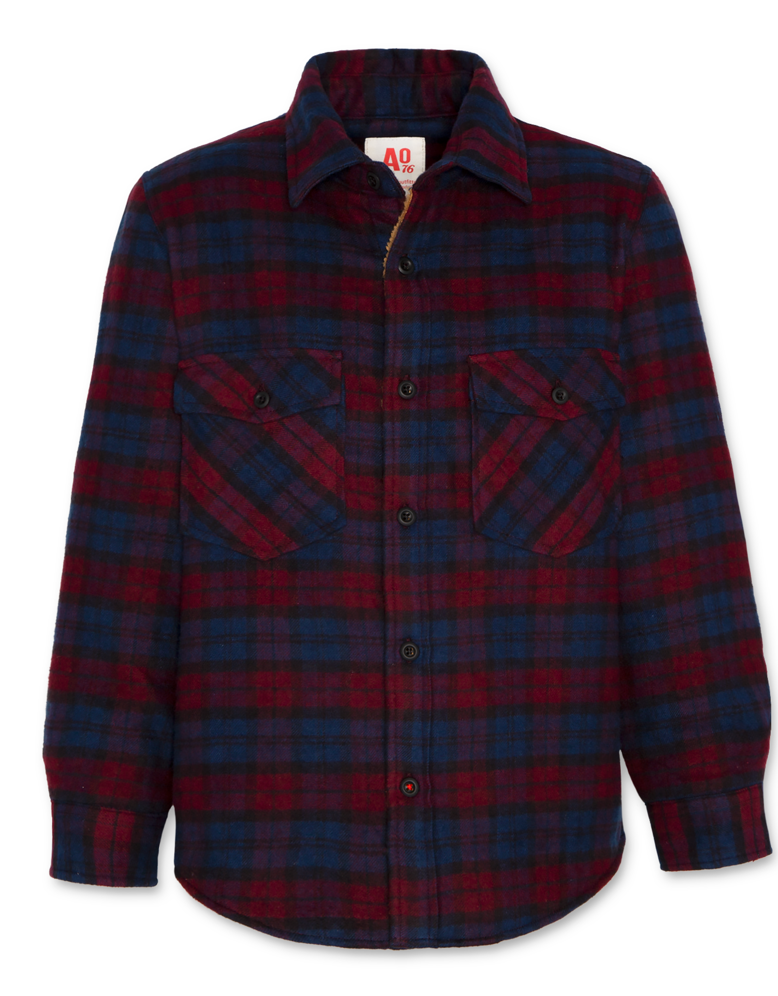 AMERICAN OUTFITTERS AO76 henryck teddy shirt navy