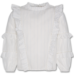 AMERICAN OUTFITTERS AO76 judy nelly lace shirt offwhite