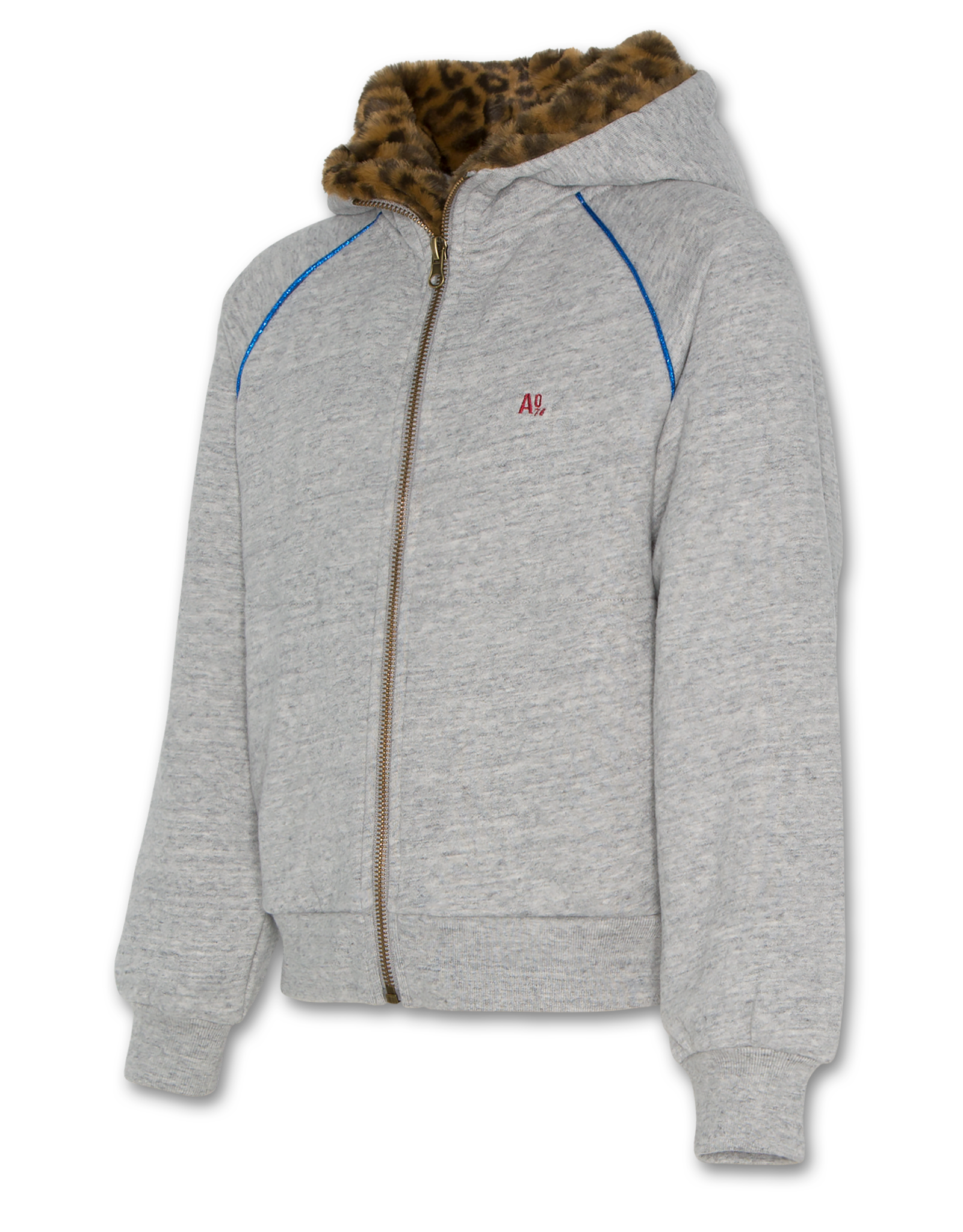 AMERICAN OUTFITTERS AO76 hoodie full zip sweater oxford
