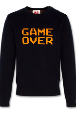 AMERICAN OUTFITTERS AO76 c-neck placed game over navy