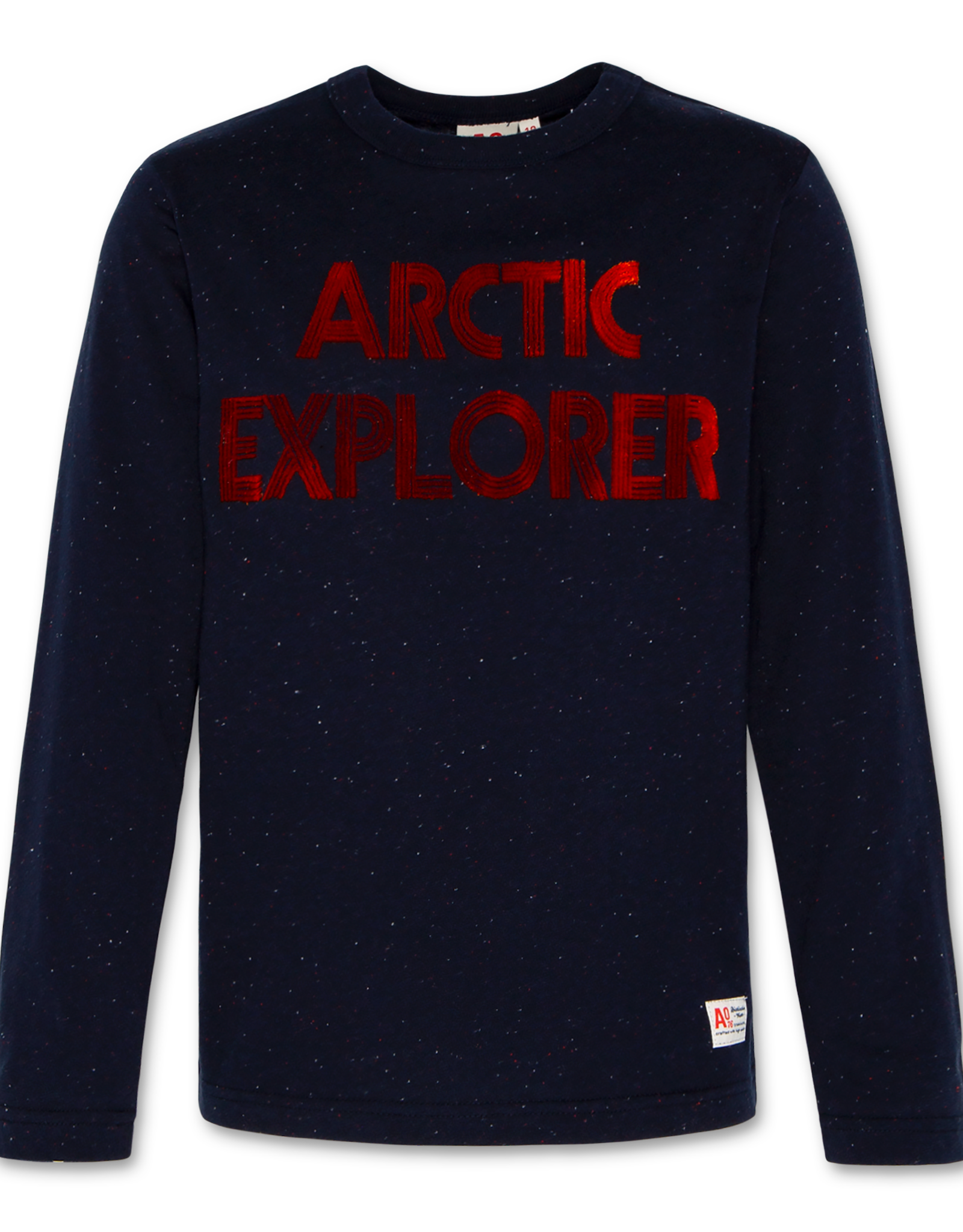 AMERICAN OUTFITTERS AO76 t-shirt c-neck ls explorer navy