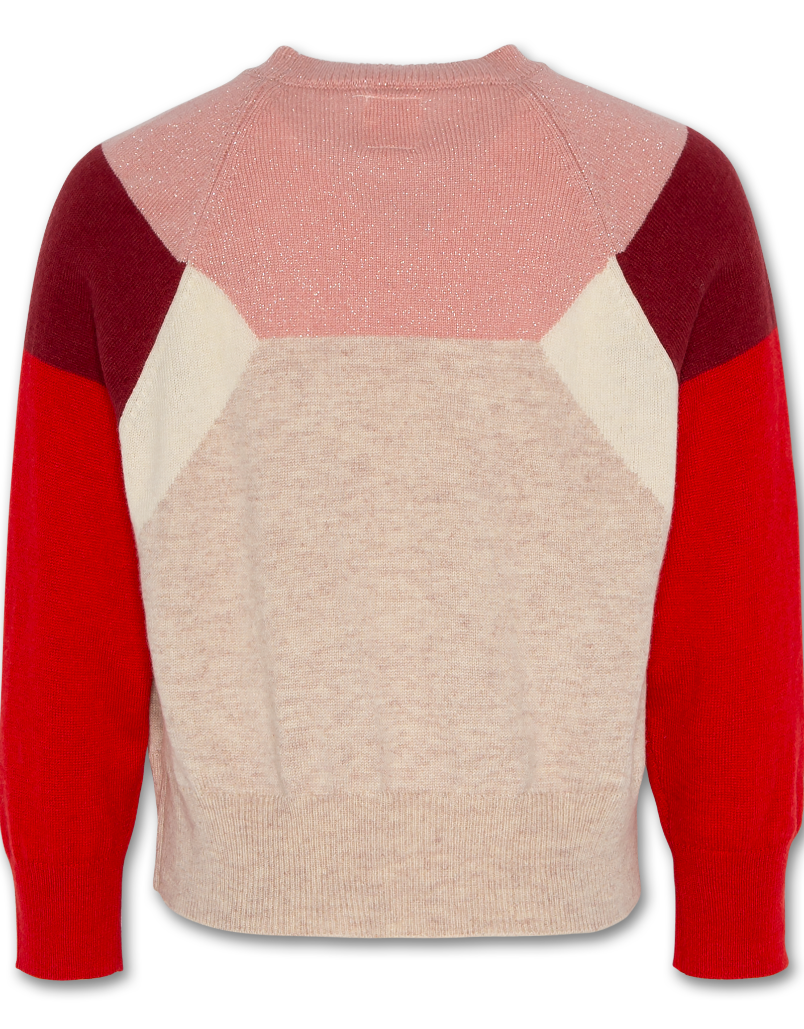 AMERICAN OUTFITTERS AO76 c-neck colour block red