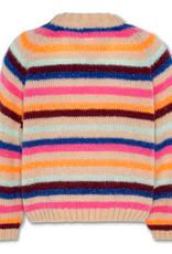 AMERICAN OUTFITTERS AO76 c-neck multi stripe or neon stripe multicolour